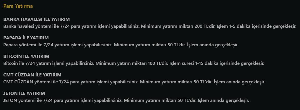 Casino Levant Para Yatırma Yöntemleri